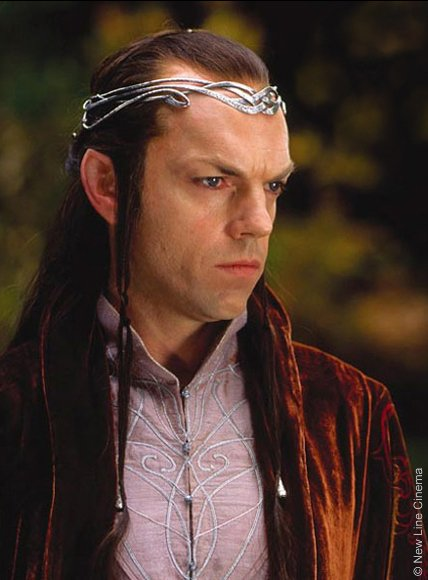 Hugo Weaving è Elrond